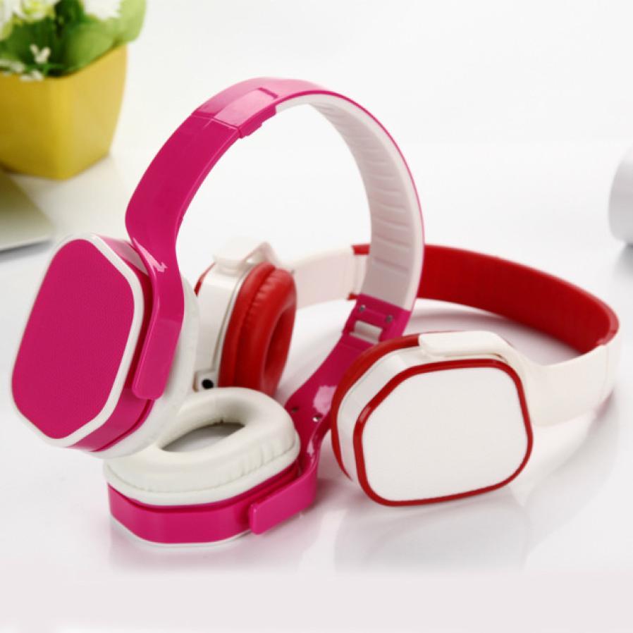 Мода 3.5 мм Портативный проводной повязка наушники гарнитура с микрофоном для Смартфона MP3 PC nov27