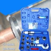 Manual hidráulica tubo expansor CT-300AL (10-42mm) expansão Tool set (3/8 a 1-5/8)