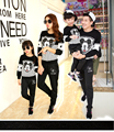 Family Matching Outfit Cartoon Family Clothing Mother Daughter Father Son Clothes Fashion Clothing Women Summer Sweatshirt TL03