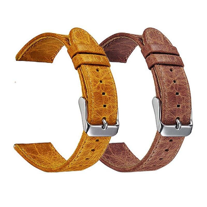 FOHUAS hull hobusenahast käepael Samsungi käigukasti s3 randmele - Kellade tarvikud - Foto 3