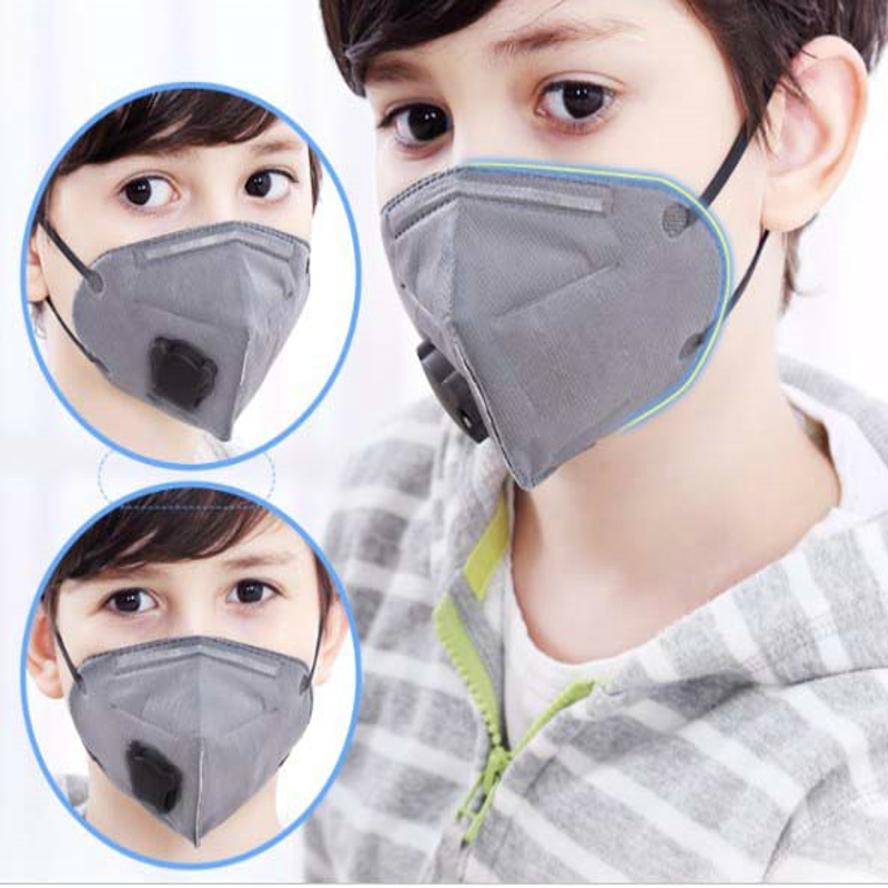 50pcs Anti Industrial Gas Masks Pm2.5 Respirator Kids 3d Anti-dust Protective Facepiece Mask For Children 2-7 Years Old Girl Masks