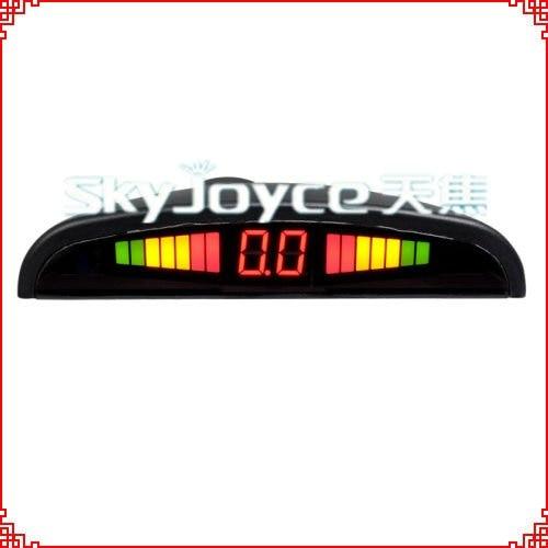 Датчик парковки автомобиля система парковки заднего вида радар 4 датчика s/головок комплект, почтой Гонконга