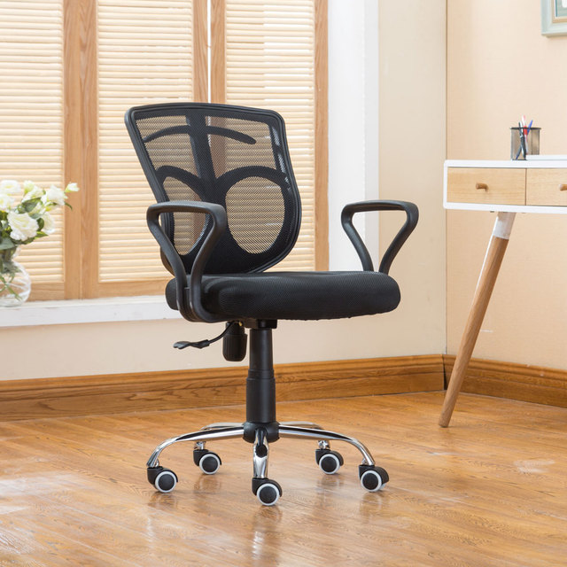 Mesh Chair Swivel Office Gas Lift Armchair Rolling Legs Furniture Hot