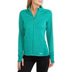 Women's Outdoor Jacket Sports Hiking Clothes Fleece Jacket Thermal Running Stand Collar Long-sleeve Female Sweatshirt Coat Q188