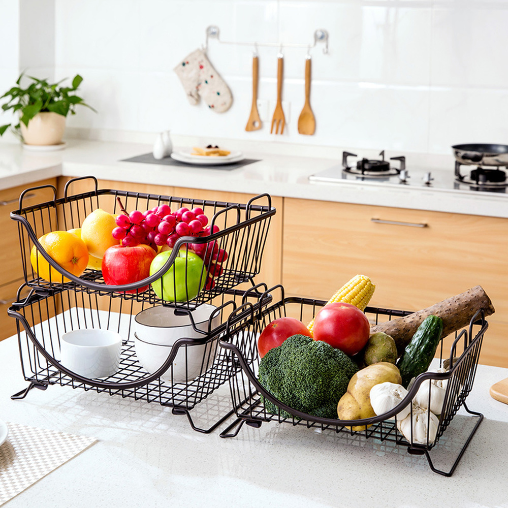 Metal racks kitchen supplies landing storage dish rack drain rack vegetable rack bowl LM01251510