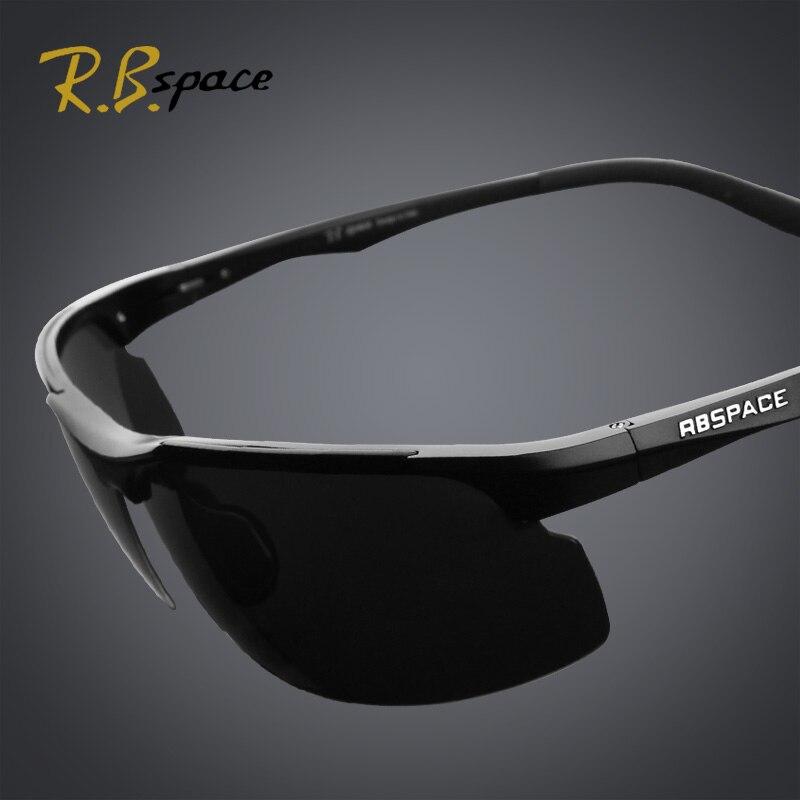 5687c58ec9cbe RBspace الذكور طلاء الاستقطاب النظارات الشمسية مرآة القيادة ليلا ونهارا  يعتم للرؤية الليلية نظارات الرجال الاستقطاب النظارات الشمسية رجل