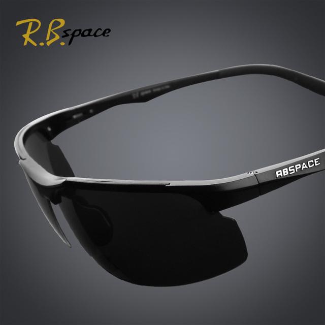 RBspace Masculina revestimiento polarizado gafas de sol de Conducción espejo día y noche con atenuación gafas de visión nocturna gafas polarizadas de los hombres gafas de sol hombre