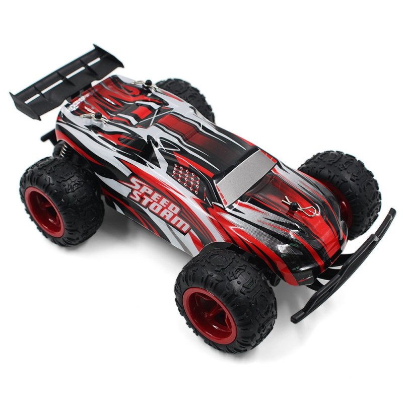 2017 Sports high speed car 9601 2.4G 1/22 electric big foot RC Buggy Speedstorm Blue Red Remote Control Car Toy vs 333 - GS04B