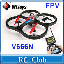 HOT sell Cool Appearance large professional rc drone WLtoys V666 Upgrade V666N 52.5CM 4CH 6 Axis 5.8G FPV with 2.0MP HD Camera