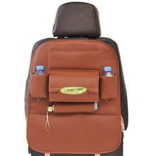 Autofans Universal Auto Seat Back Bag PU Leather Storage Organizer with Drink Holder Travel Hanging Pocket with Tissue Box S01 xlc pu s01 stand pump alpha 11 bar with dualkopf
