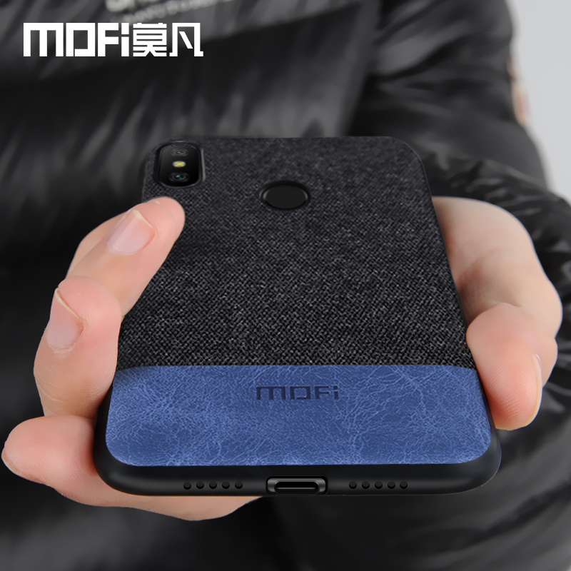 Xiao mi A2 Lite caso Xiao mi A2 Lite cubierta Borde de silicona a prueba de golpes caso capas MOFi original mi A2 caso