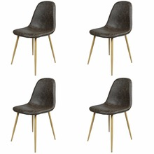 Aingoo Europe and America Dining Chair Multifunction Lounge Chair Dining Chair Fashion Office Rest Dining Chair Room Furniture