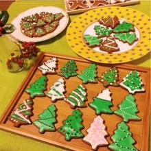 Рождественская елка Формы для выпечки Печенья Плесень Cakestainless стальная Рама DIY Приготовления Пищи Металла Резак кухонные принадлежности Z5235
