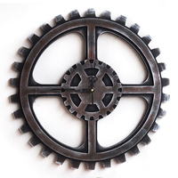 Industrial Wind Mechanical Gear Creative Soft 40cm Wall Gear Watch Wall Surface Decoration Ornaments Decorative Home
