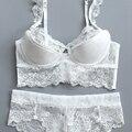 Ladies Secret Deep V Women's Sexy Bra Set Lace Underwear Sets Soft Bra Briefs Underwear Brassiere Female Panties Free Shipping