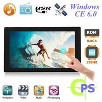 9 inch Touch Screen Portable Car Sat Nav FM 256MB+8GB GPS Navigator