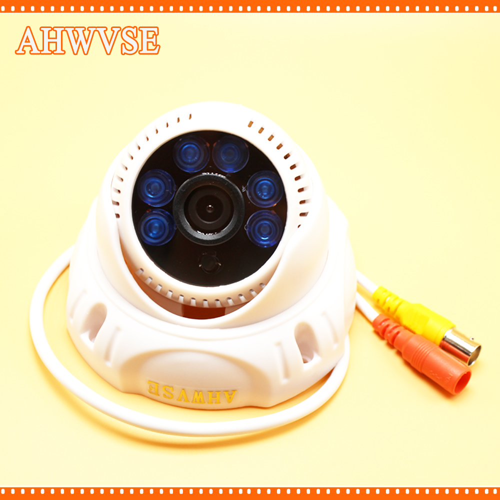 AHWVSE HD View 2.0MP AHD 1080P Indoor CMOS Sensor Wide Angle 3.6mm Fixed Lens CCTV IR Dome Camera