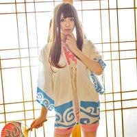 S-XXL Yeni Polyester kadının Cosplay Karikatür GINTAMA Kostüm Sıcak Satış Japon Tarzı Sakata Gintoki Uzun Kollu Giysi XM16994
