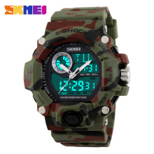 2016 New SKMEI Luxury Brand Men Military Sports Running Watches LED Digital Wristwatches rubber strap relogio masculino