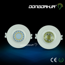 AC85-265V 3W 5W Dimmable LED Recessed Downlight Lamp White Ceiling Spot Light LED Down Light Home Indoor Lighting