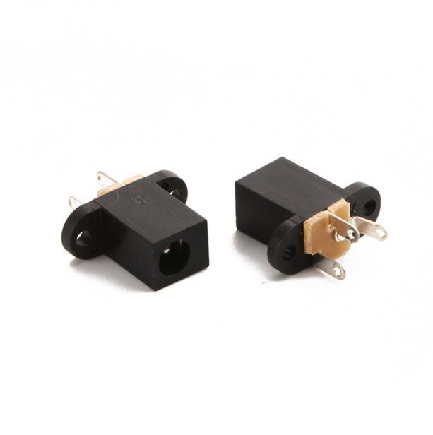 20 штук DC Мощность соединения Jack DC-008 3,5*1,3 мм 1,3 мм иглы 3-х контактный разъем питания постоянного тока