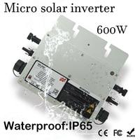 Comparar Impermeable 600 W Micro inversor de rejilla Solar DC 22 50 V de Entrada amplia