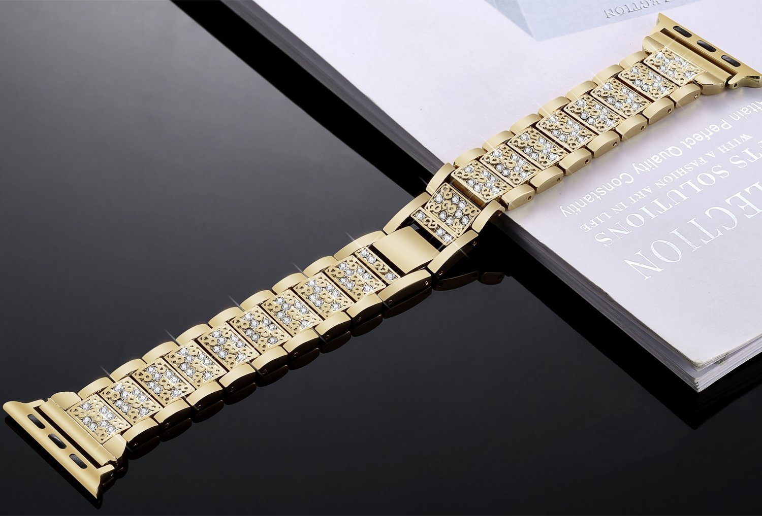 Women Diamond Band for Apple Watch 20