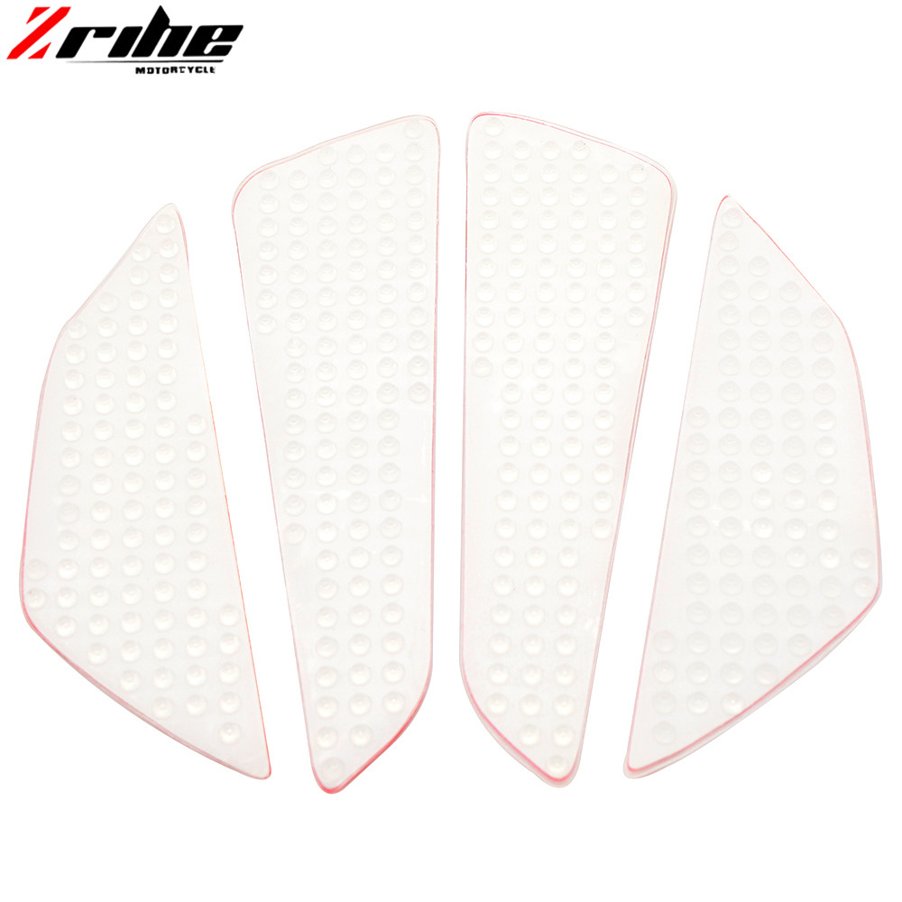 Universal motorcycle Tank Traction Pad Kit Top black