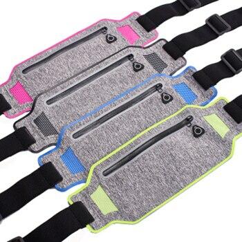Running Bag Waterproof Running Waist Bag Fanny Pack Men Women Jogging Belt Bag Gym Fitness Bag Sport Bike Accessories