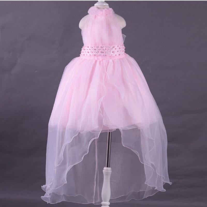 Venta caliente de la Muchacha de Flor Vestidos De Partido Formal ...