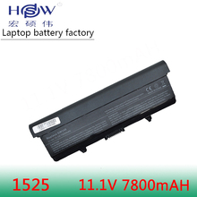 9CELL 7800MAH Laptop Battery FOR Dell GW240 297 M911G RN873 RU586 XR693 for Inspiron 1525 1526 1545 x284g