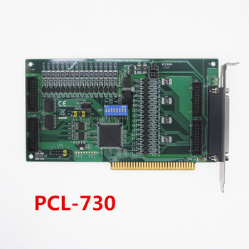 1 year warranty  has passed the test   PCL-730  C1 32-channel digital input/output isolated digital I/O