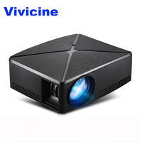 Vivicine C80/C80UP LED Portable Home Theater HD Mini Projector (Optional Android 6.0 Android 7.1 For Iphone Smart Android Phone)