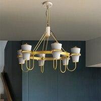Jaxlong Woonkamer Hanglampen Nordic Creatieve Minimalistische Hotel Woonkamer Verlichtingsarmaturen Decor Slaapkamer Hanglamp-in Hanglampen van Licht & verlichting op