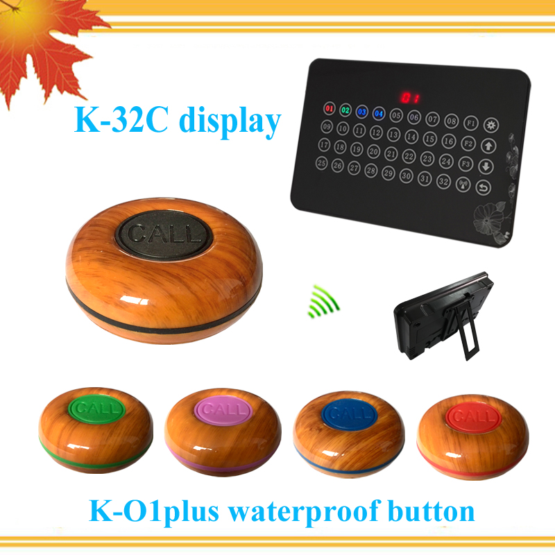 Ycall Good Distance 433.92MHZ Wireless Buzzer Bell System Restaurant Pager Equipment( 1 display+ 5 call button )Ycall Good Distance 433.92MHZ Wireless Buzzer Bell System Restaurant Pager Equipment( 1 display+ 5 call button )