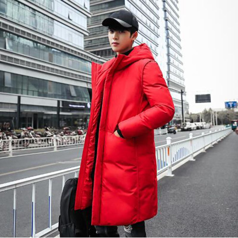 b High Quality Parka Men Winter Long Jacket Thick Cotton-Padded Mens Coat Male Fashion Casual Coats 5XL