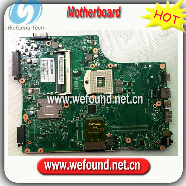 ФОТО 100% Working Laptop Motherboard for toshiba A500 V000198150 Series Mainboard,System Board