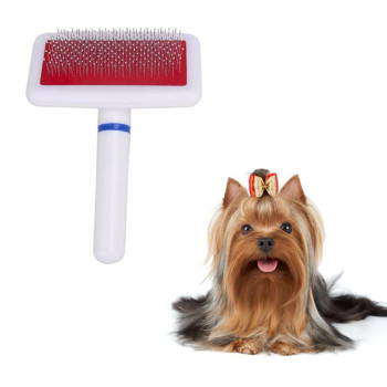 1PC Needle Comb for Dog Cat Yokie Gilling Brush Dog Rake Comb Pet Beauty Tool