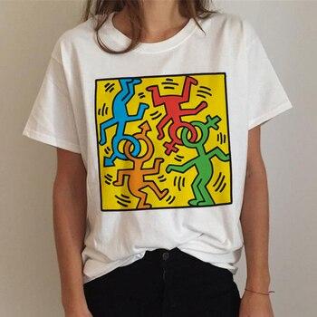 Lgbt T Shirt Women Gay Pride Shirt Lesbian Rainbow T-shirt Harajuku Ullzang Funny Tshirt 90s Graphic Love Is Love Top Tee Female 20