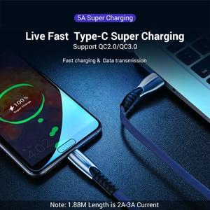 Image 3 - USB di Tipo C Veloce di Ricarica usb c Tipo di Cavo c Cavo di dati del Caricatore Del Telefono per il Tipo USB C dispositivi Per Il Nylon Intrecciato Cavo di Ricarica Veloce