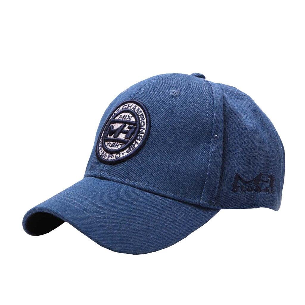 2019   Baseball     Cap   female Men Cotton Embroidered Flower Denim   Cap   Fashion   Baseball   hat durable enough   Cap   #P4