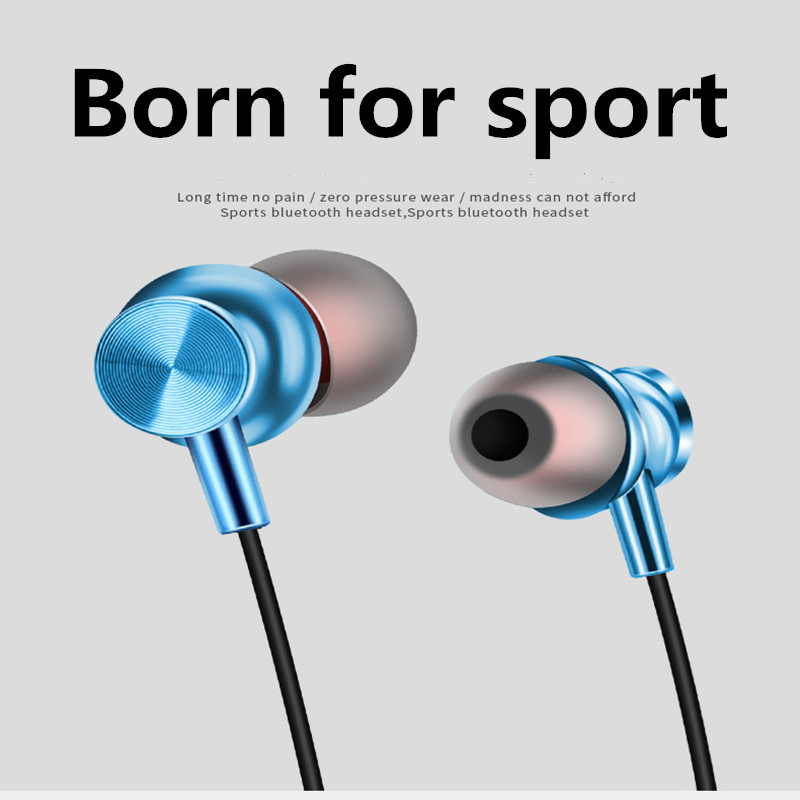 Magnetic Wireless Bluetooth Earphone XT11 Stereo Sports Waterproof Earplug Bluetooth 4.2 Is Suitable for All Bluetooth Devices