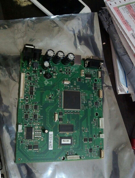 цена на USED MOTHERBOARD main board formatter board FOR Zebra GK420T label printer with 3 MONTHS WARRANTY