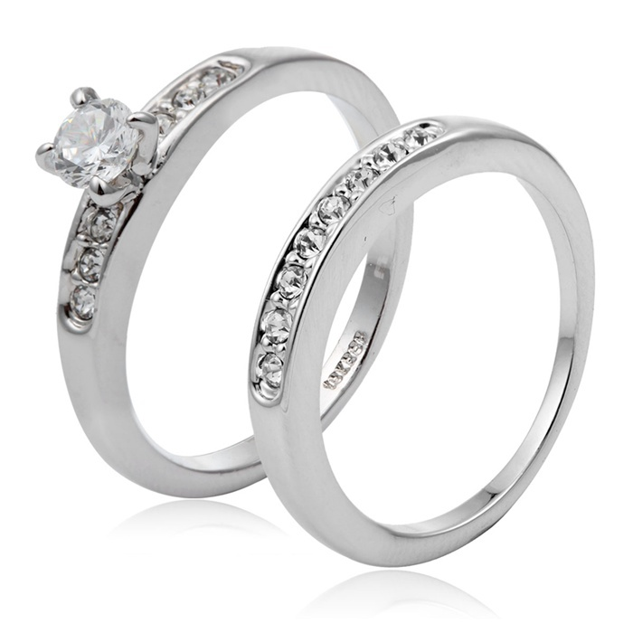 aliexpress com 2017 aaa high quality 18k white gold plated latest designs of wedding rings