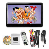 ET 10.1 Inch Touch Screen Headrest DVD Player Car Headrest Monitor Audio Visual Player USB/SD/HDMI/IR/FM TFT LCD Screen