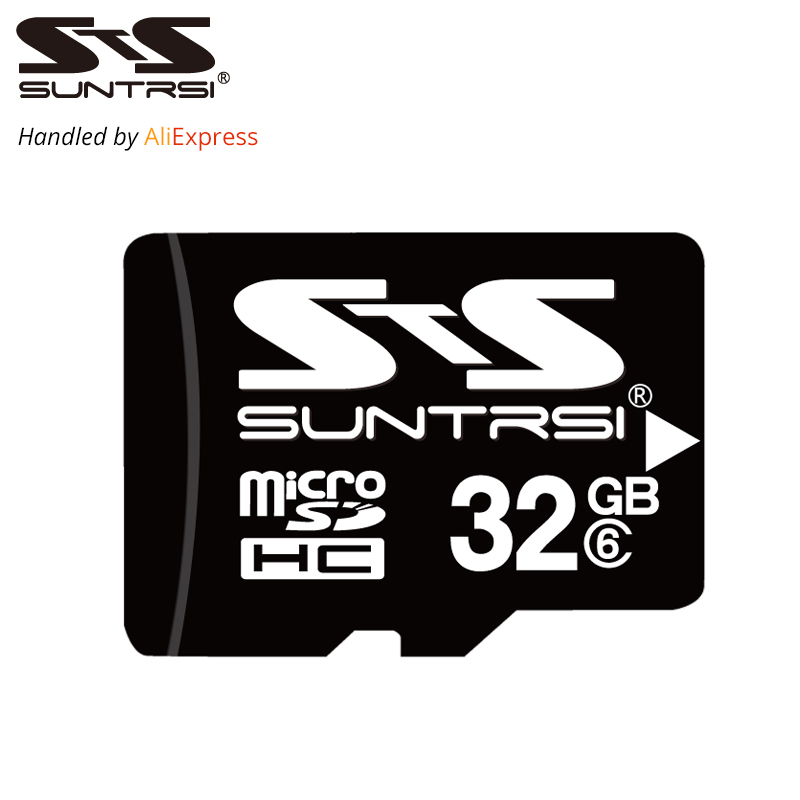 Suntrsi Micro SD Card 32GB 16GB 8GB 4GB Memory Card Microsd TF Card High Speed Micro SD Card  Class 6 For Phone Camera Free Ship