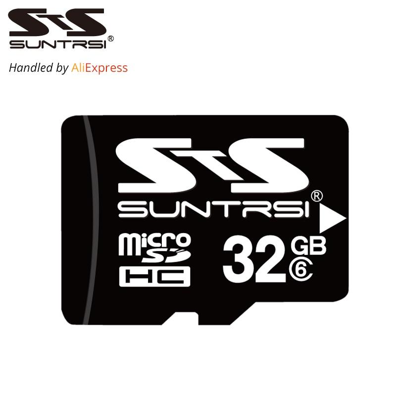 Suntrsi Micro SD Card 32GB 16GB 8GB 4GB Memory Card Microsd TF Card High Speed Micro SD Card  Class 6 For Phone Camera Free Ship