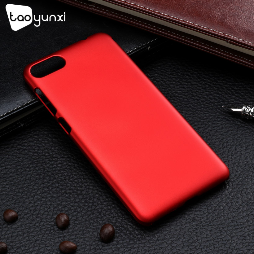 TAOYUNXI Case For Asus Zenfone 4 Max ZC520KL Case For Asus ZC520KL Cover Oil Coated Hard Plaitic Coque Funda Housing Bag 5.2inch