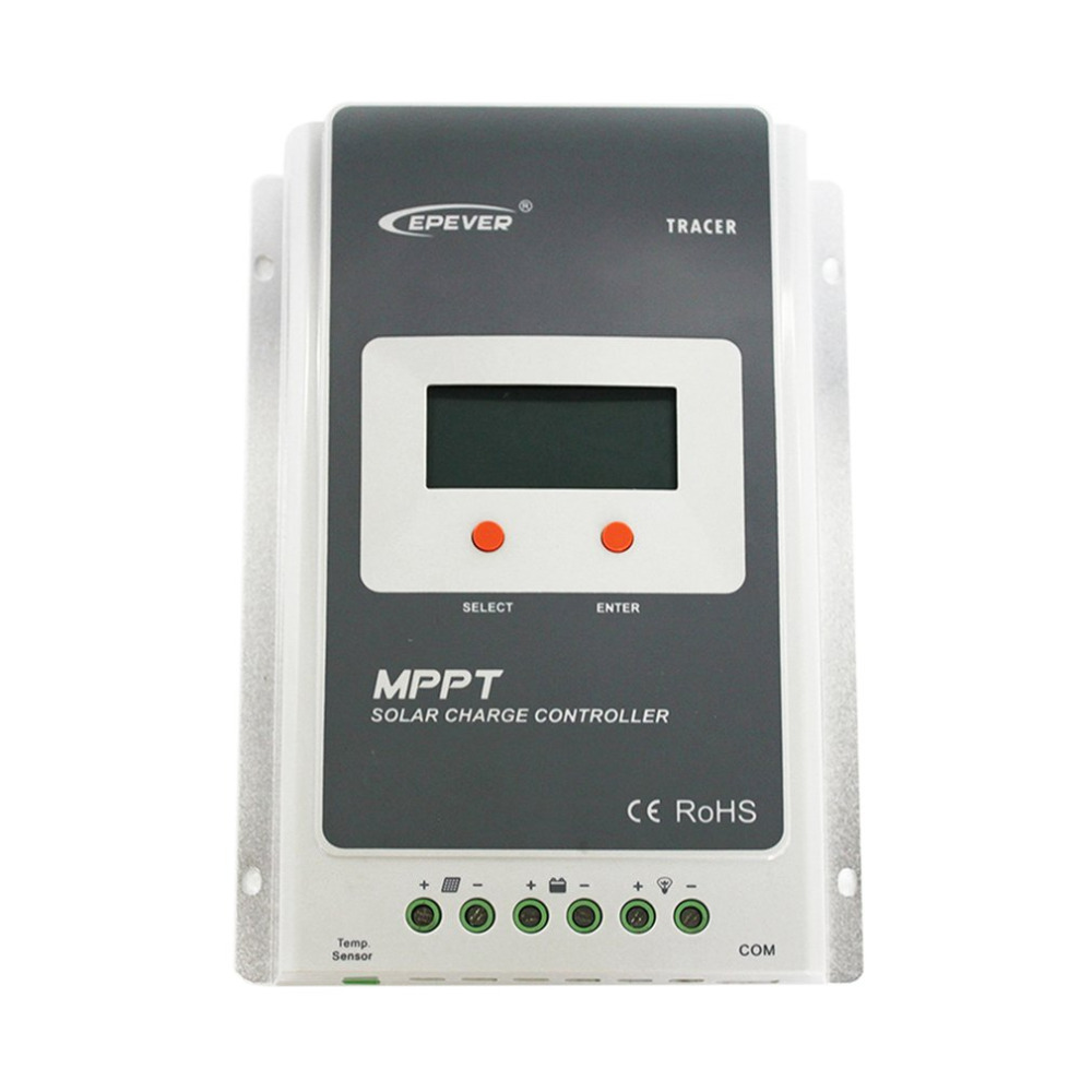 Solar Charge Controller MPPT 40A 4210A 12V/24V Automatic Conversion LCD Display Max 100V Regulator PC Communication Mobile mppt 40a 4210a solar charge controller 12v 24v automatic conversion lcd display max 100v regulator pc communication mobile