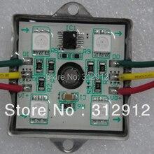 20 штук DC12V TM1804 Addressable RGB полноцветный светодиодный пиксельный модульный; IP68; 0,96 W